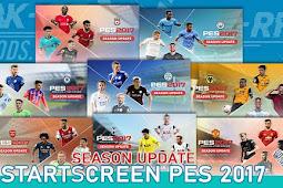 Season Update Start Screen Pack - PES 2017