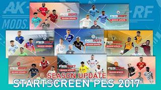Season Update Start Screen Pack PES 2017