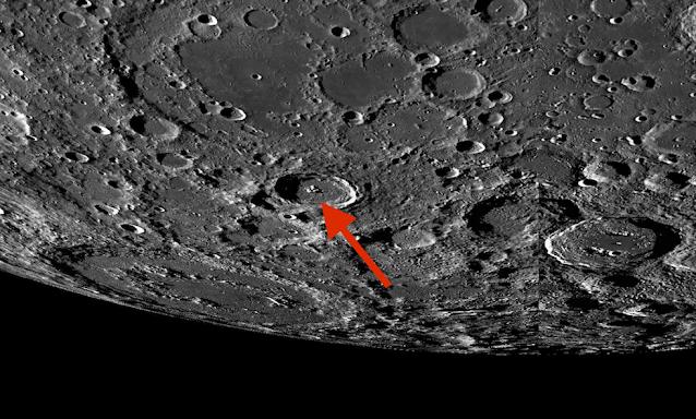 Extrañas formas en el lado oscuro de la luna, mapa lunar LROC, fotos 6