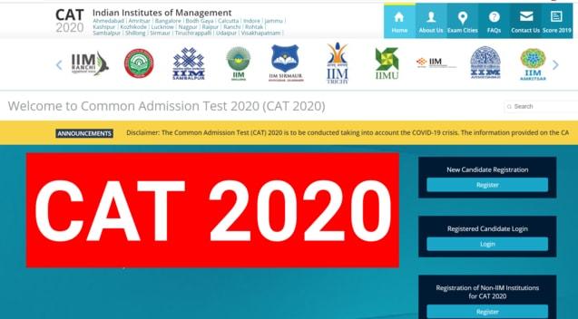 CAT Exam 2020