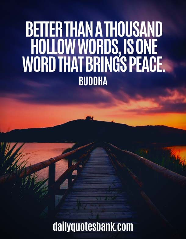 Buddha Quotes On Changing Yourself About Peace