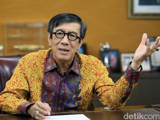 Jadi Anggota DPR, Yasonna Ngotot Lanjutkan RUU Pemasyarakatan dan KUHP