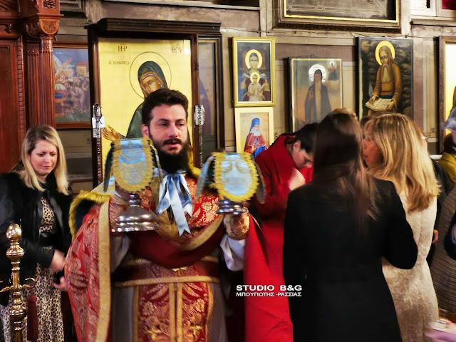 Θεία Λειτουργία της εορτής των Χριστουγέννων στην Πρόνοια Ναυπλίου