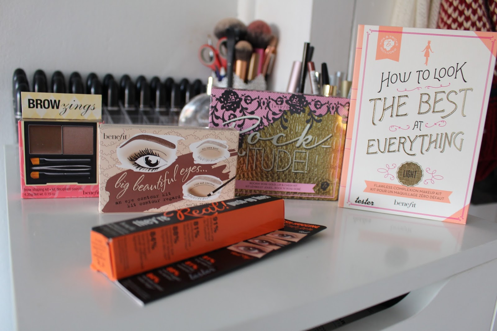 So as I'm sure you all know, I've recently posted about starting my new job at Benefit Cosmetics. When you first start you have to send off some basic ...