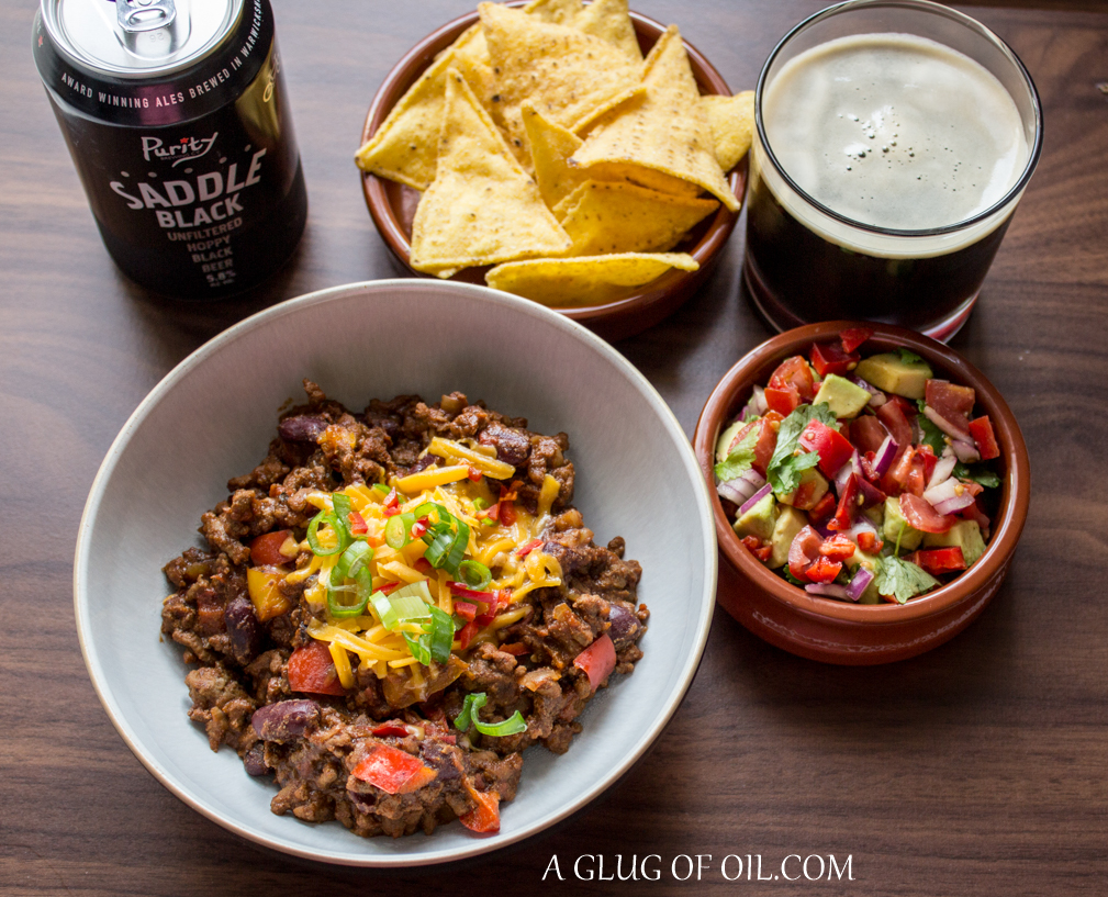 Chilli with beer
