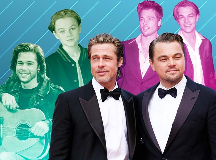 Brad Pitt dan Leonardo DiCaprio Buka-bukaan Seputar Kehidupan Mereka