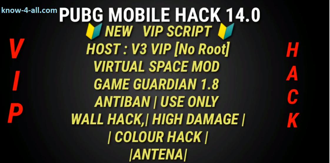 🔰PUBG Mobile New Script H-Iraq 0 14 0🔰 No Root Anti Ban