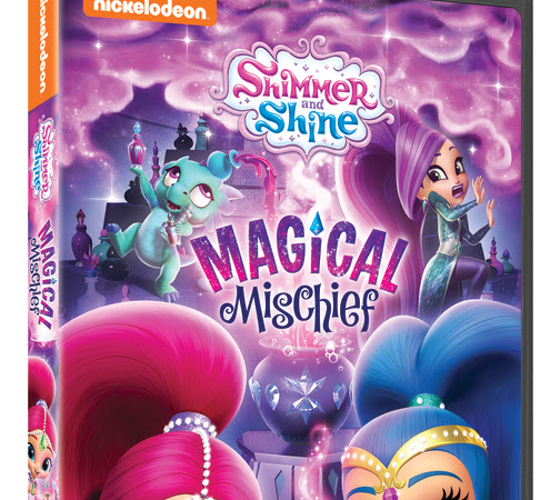 Boom Zahramay! SHIMMER AND SHINE: MAGICAL MISCHIEF on DVD Now! {DIY Hot Chocolate Bombs + Giveaway}