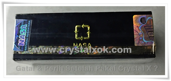 gambar eksklusif crystal x pt nasa