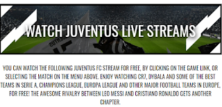 Watch Juventus Match Live Free Stream Online