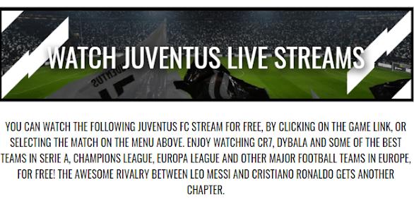 Watch Juventus Match Live Free Stream Online
