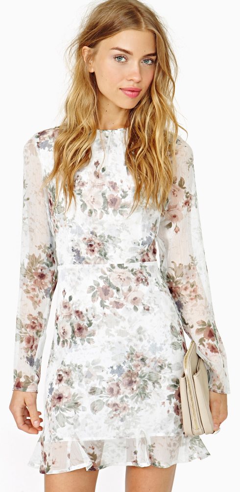 For Love & Lemons Dress Try Summer Outfits #summeroutfits