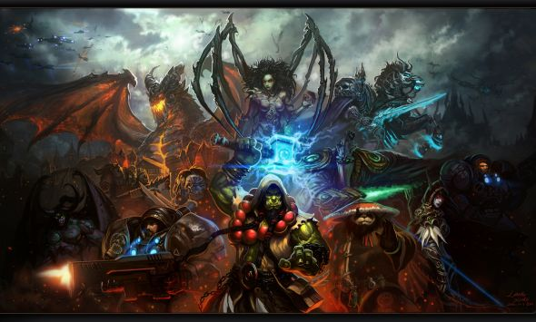 Liang Xing ilustrações fantasia games Blizzard (World of Warcraft, Starcraft, Diablo)