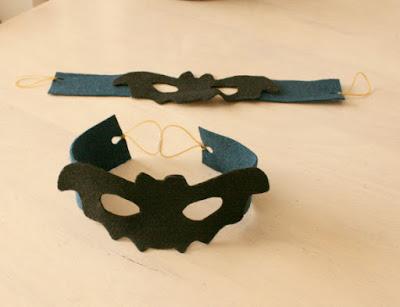 ハロウィン手作り仮面
