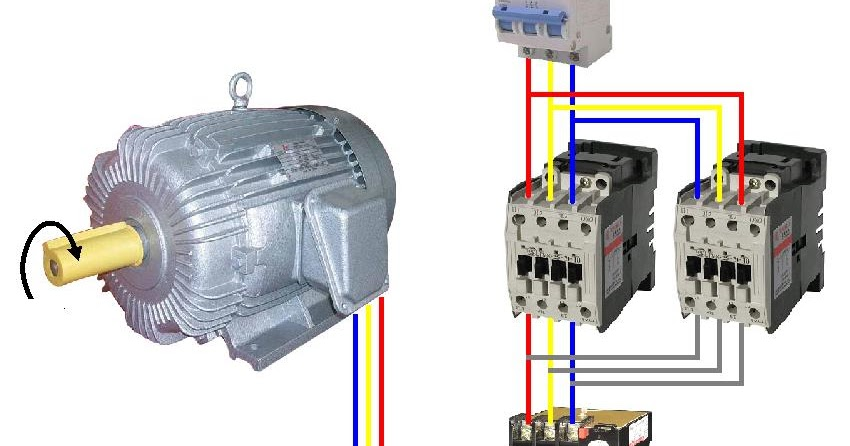 Wye Delta Motor Starter Wiring Diagram Batten Holder Star-delta Connection In 3-phase Induction | Electrical World: ...