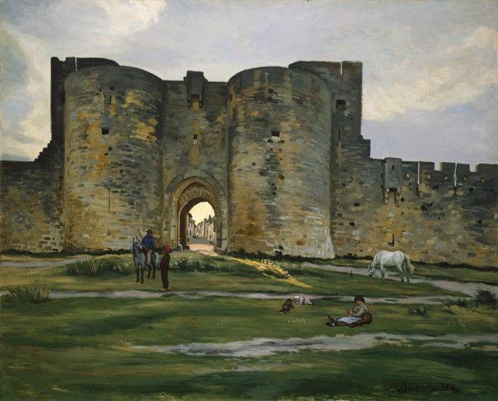 Королевские ворота в Эг-Морт, Жан-Фредерик