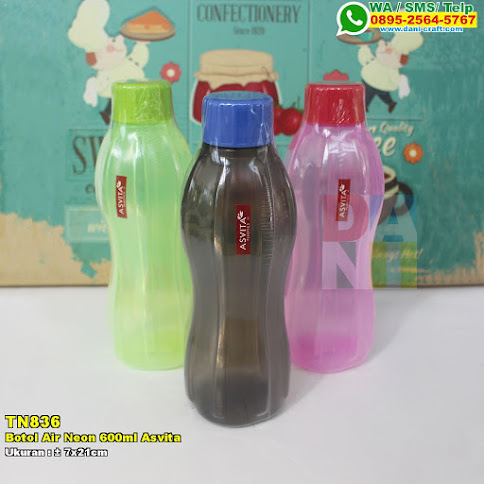 Botol Air Neon 600ml Asvita