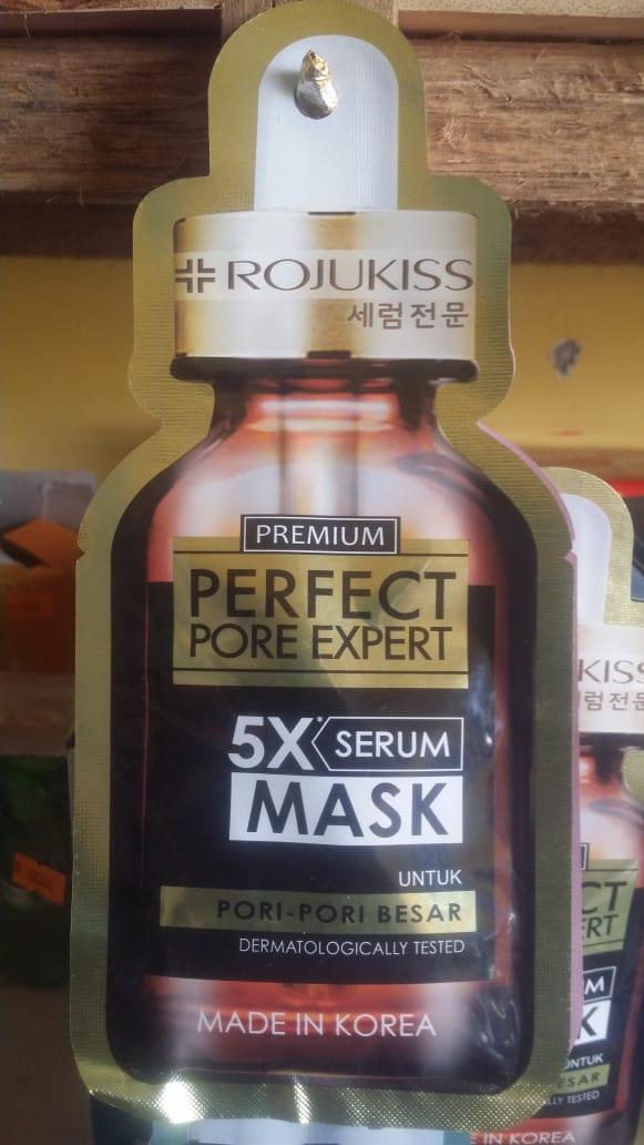 foto produk Rojukiss Premium Perpect Pore Expert 5X Serum Mask