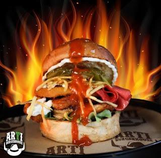 artı burger house bornova izmir menü fiyat listesi hamburger sipariş