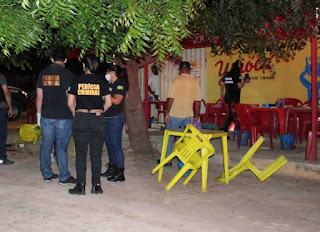 Três homens são mortos a tiros em bar; entre eles dois irmãos foram assassinados