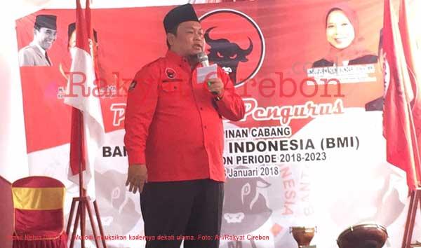 kader banteng muda indonesia diminta terus dekati ulama
