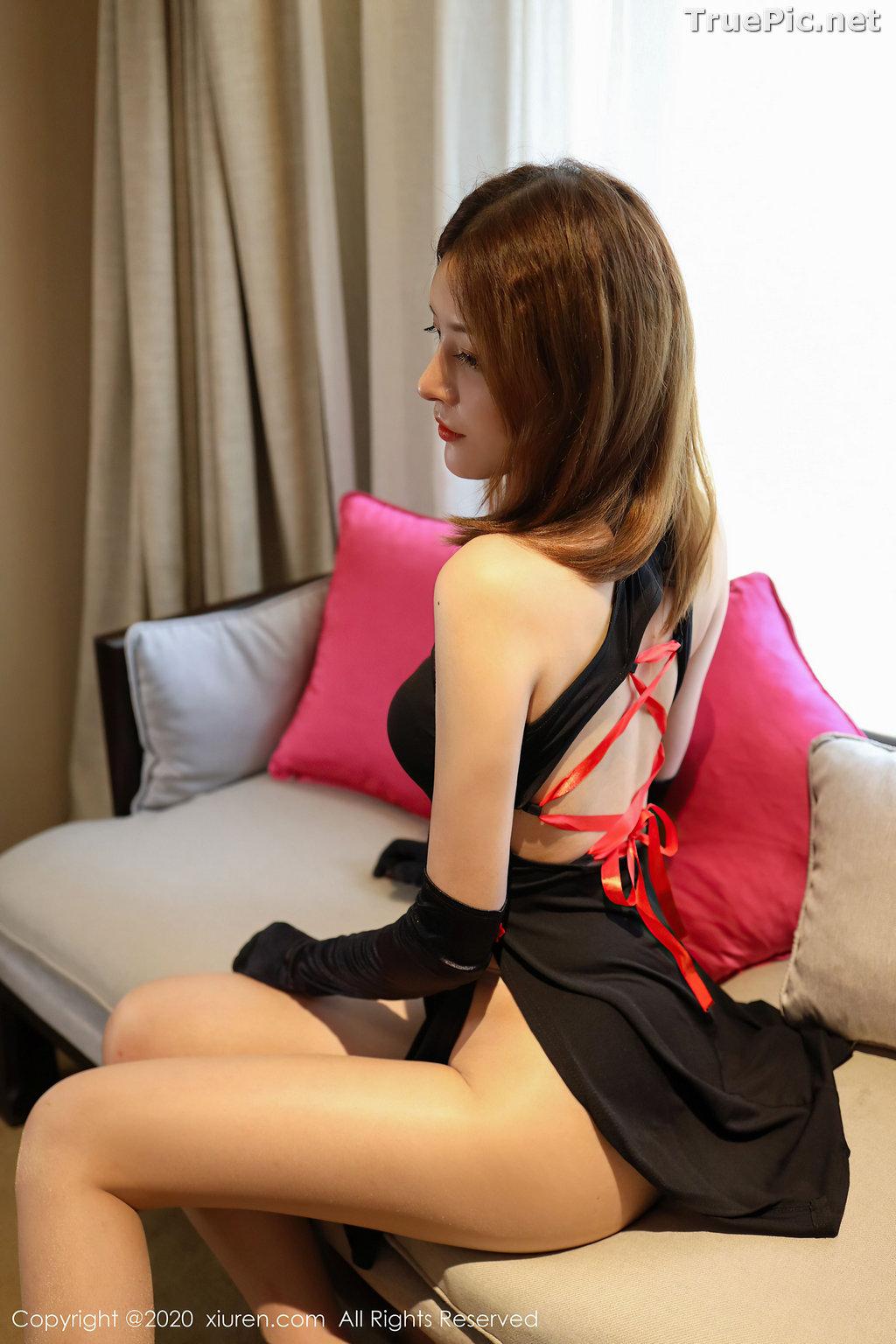 Image XIUREN No.2476 - Chinese Model - 樱花Elsa - Sexy Chinese Dress - TruePic.net - Picture-8