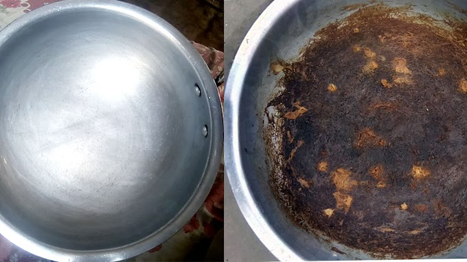 Easy Way of Clean Burnt Pan And Pot
