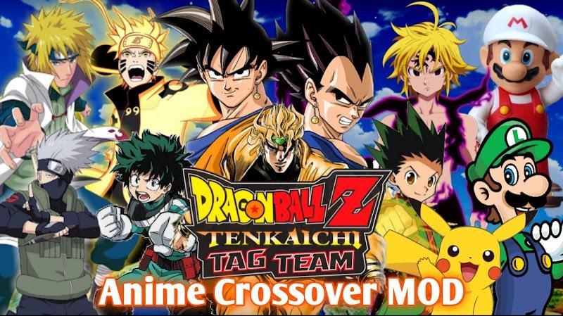 Anime Crossover DBZ TTT MOD PSP ISO Download