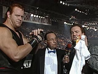 WCW Great American Bash 1990 - Paul Heyman and Mean Mark