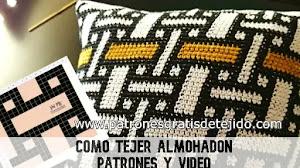 Cómo tejer el almohadón crochet tapestry | Patrones y video