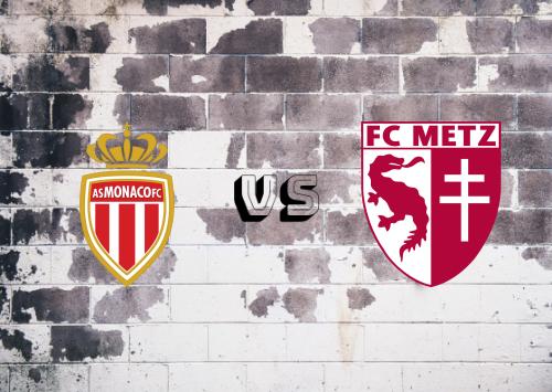 AS Monaco vs Metz  Resumen