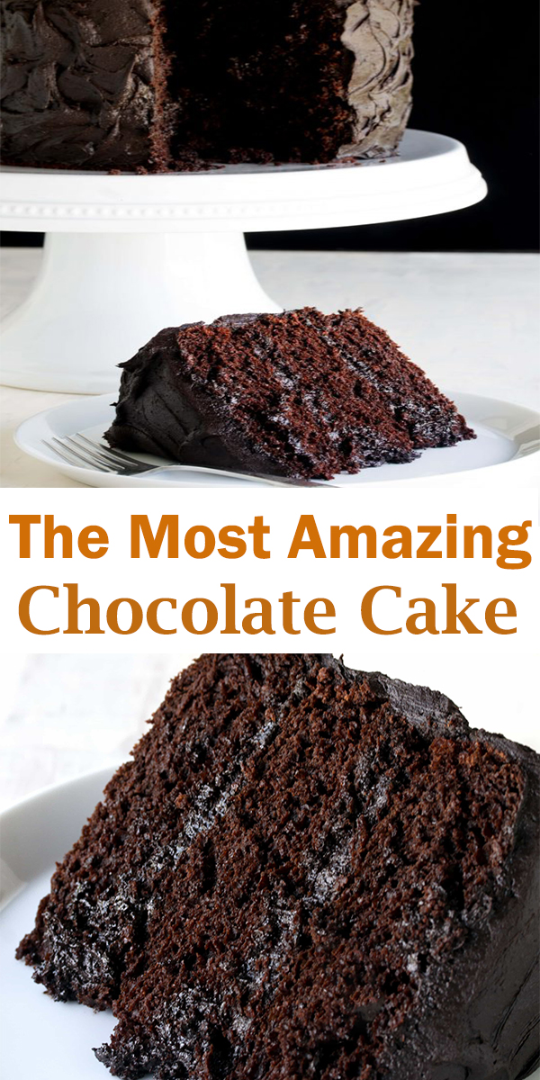 The Most Amazing Chocolate Cake #TheMost#Amazing #Chocolate #Cake #TheMostAmazingChocolateCake
