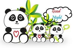 good night cute cartoon images