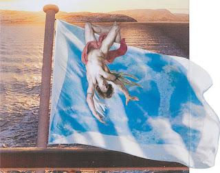 Dettaglio dell'opera 'La caduta di Icaro', 2020, matita e collage su carta, cm 75 x 69,5 - Courtesy Alfonso Artiaco, Napoli
