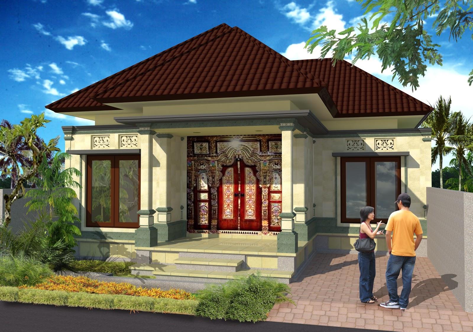 3D Rumah type 55 klungkung