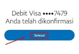 Akun Paypal Telah Berhasil Terverifikasi