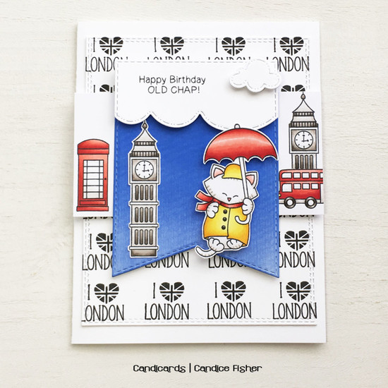 I {heart} London by Candice features Newton Dreams of London by Newton's Nook Designs; #newtonsnook