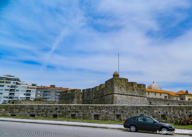 Forte na Foz do Rio Douro, Porto, Portugal