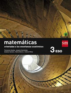 Libro Matemáticas Orientadas a las Enseñanzas Académicas 3º ESO SM Proyecto Savia