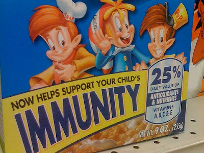 منتج غذائي للأطفال تم مقاضاته بسبب إضافة عنصر غير مؤثر لوهم العميل