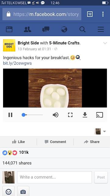 Facebook an google chrome