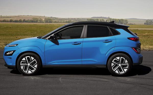 Hyundai Kona Electric 2021: autonomia ampliada a 484 km