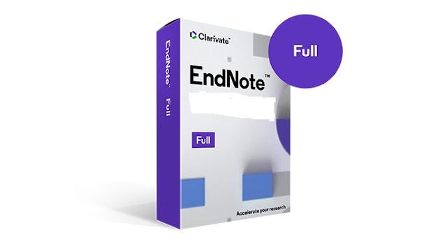 تحميل برنامج EndNote 20 لتوثيق المراجع كامل مع التفعيل