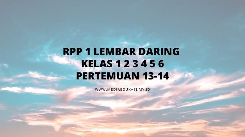 RPP 1 Lembar Daring