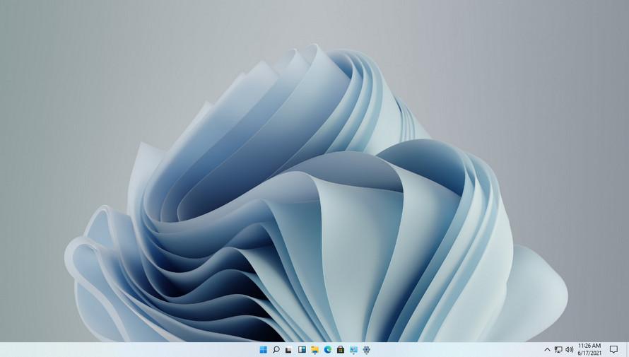 Windows 11 küçük görev çubuğu simgesi