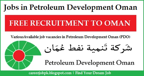 Latest jobs in Petroleum Development Oman (PDO)