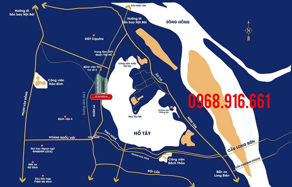 Chung cư CT36 Xuân La - 28 Xuân La - Tây Hồ