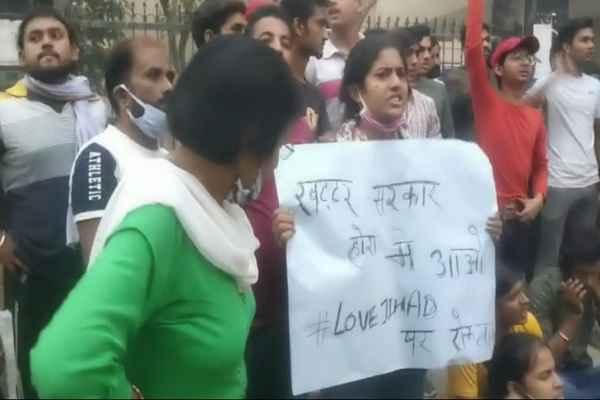 news-of-faridabad-abvp-demand-justice-for-nikita-tomer