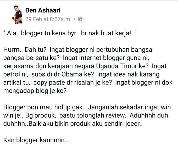 Review Produk Di Blog Akif Imtiyaz Ada Kesan Ke ??