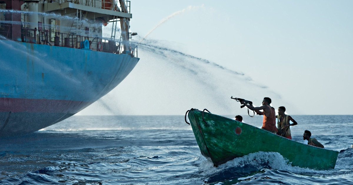 Deadly Gun Battle Between Mercenaries Who Were Protecting The Cargo Ship Against The Somali Pirates Goes Viral Online!